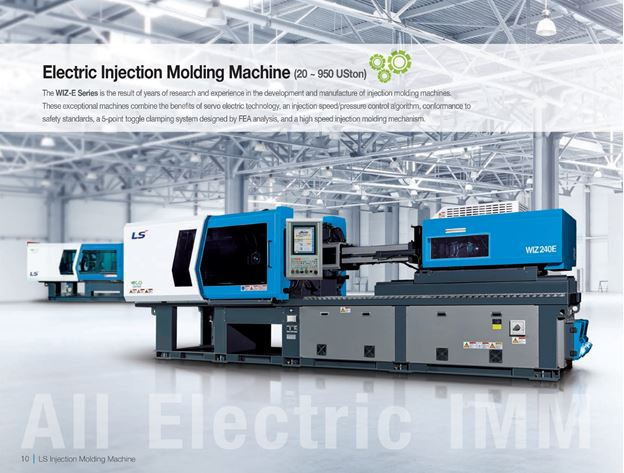 Top 5 Reasons To Get An All Electric Injection Molding