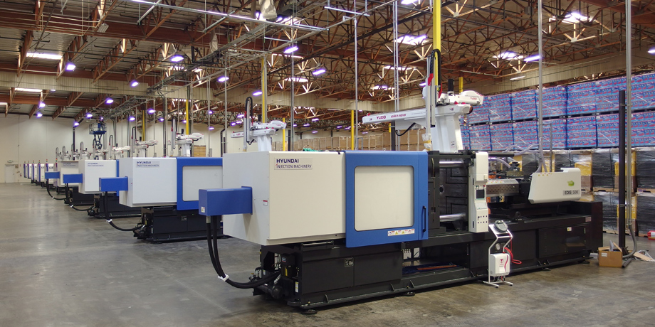 Hybrid, All Electric Injection Molding Machines | Hirate